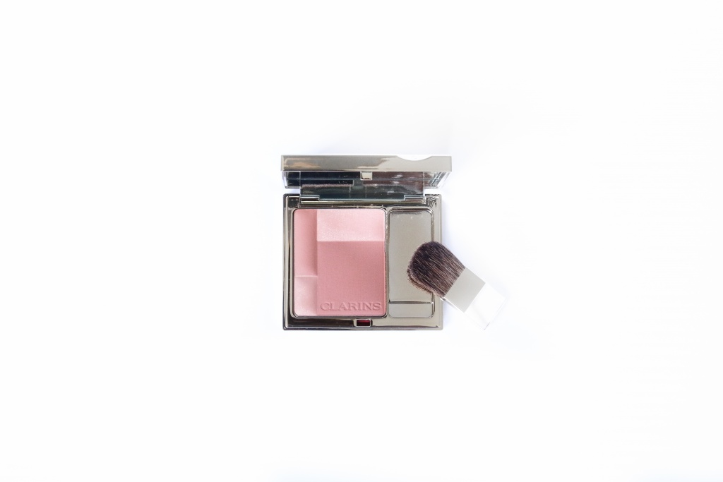 rose wood clarins blush