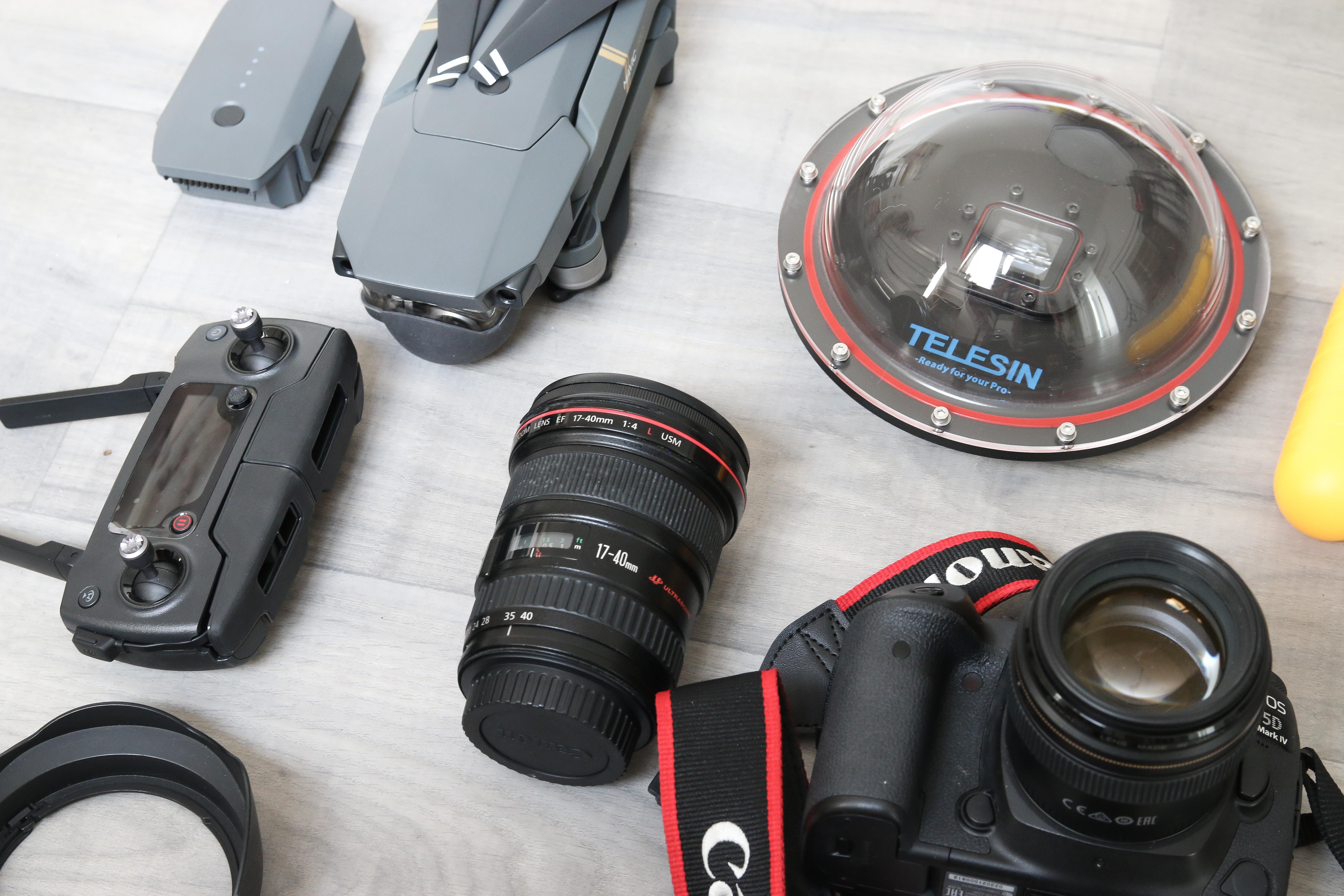 matériel photo voyage